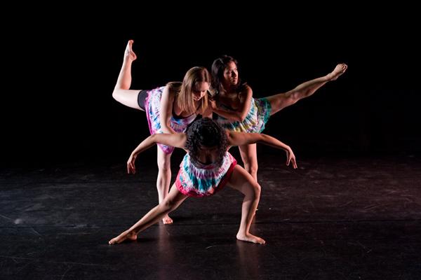 """Bridges: Danceworks 2009""; Santa Ana college Student Dance Concert 4-29-09, costume design by Katharine Tarkulich"