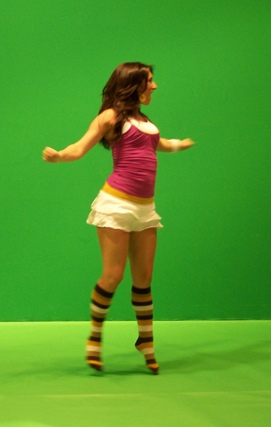 Tiny Dancer from Peas and Carrots T.V. promo, costume design by Katharine Tarkulich
