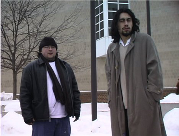 bob and mike out in the cold short film, costume design by Katharine Tarkulich