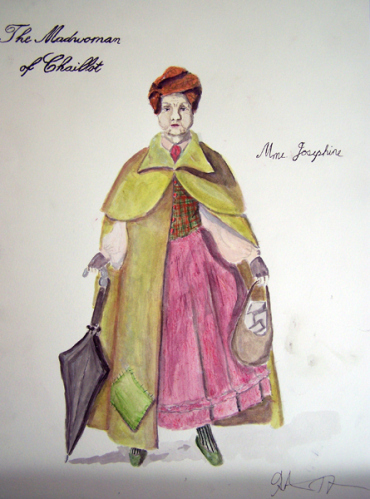 Mme. Josephine from The Madwoman of Chaillot, costume design by Katharine Tarkulich