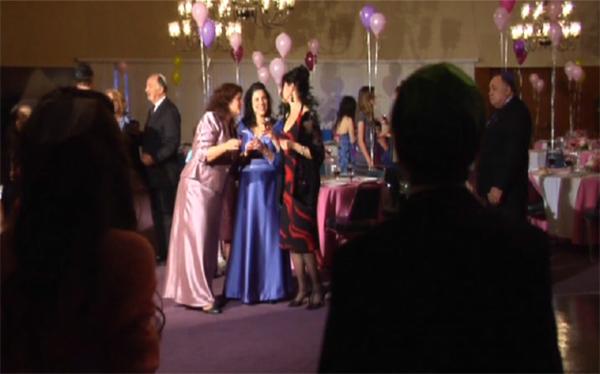 Party in Judy Horowitz's Bat Mitzvah short film, costume design by Katharine Tarkulich