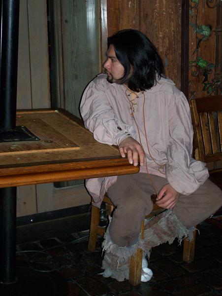 Peasant extra, Torendion short fantasy film, costume design by Katharine Tarkulich