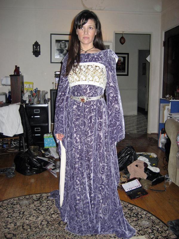 Sorceress, Torendion short fantasy film, costume design by Katharine Tarkulich