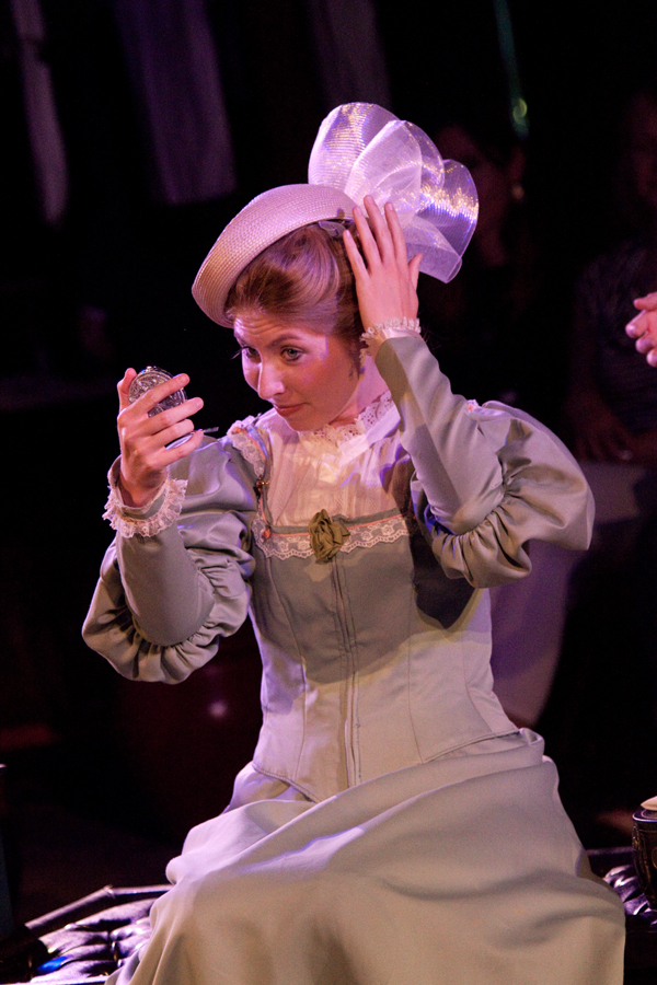 Anya in The Cherry Orchard, costume design by Katharine Tarkulich