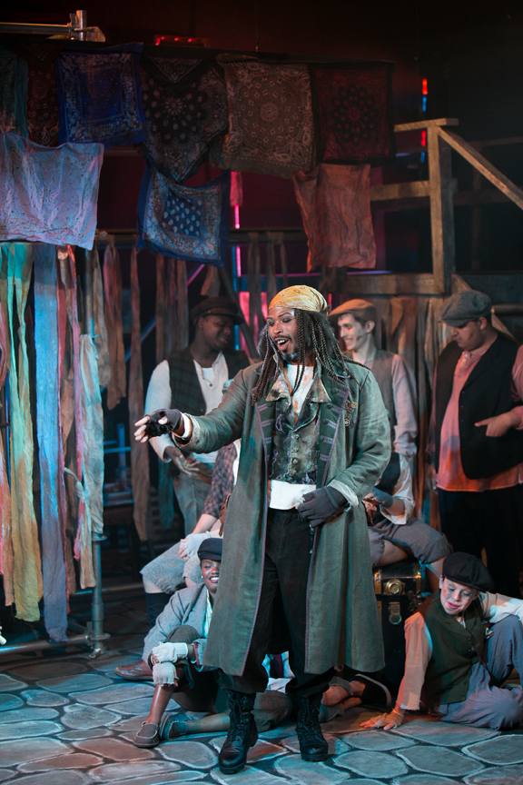 Fagin in Oliver! steampunk costume design by Katharine Tarkulich