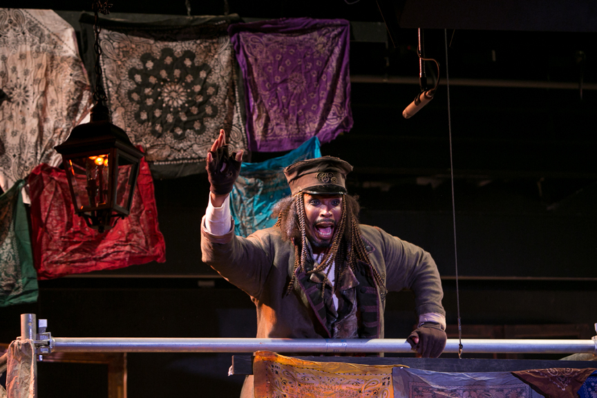 Fagin is Reviewing the Situation in Oliver! steampunk costume design by Katharine Tarkulich