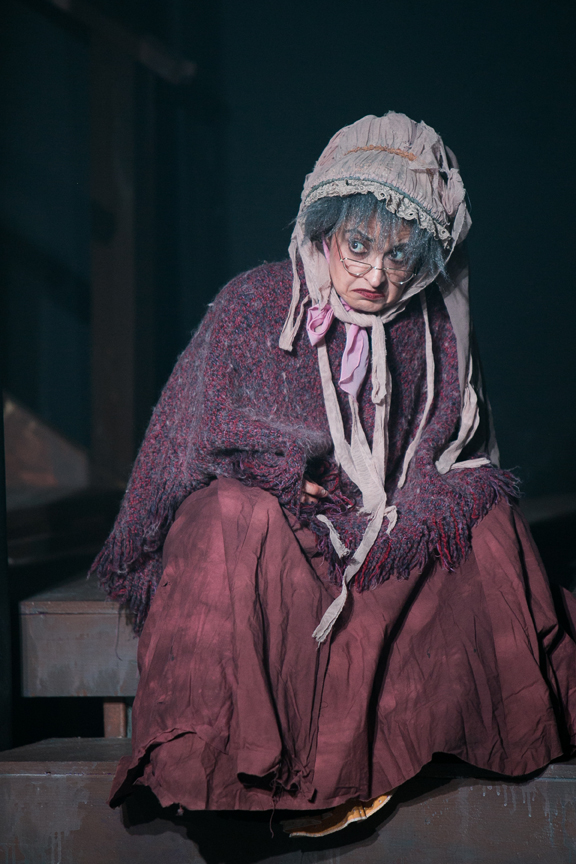 Old Lady in Oliver! costume design by Katharine Tarkulich
