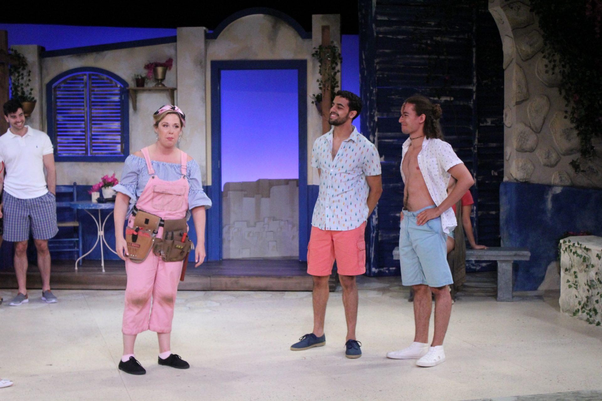 Mamma Mia!, costume design by Katharine Tarkulich